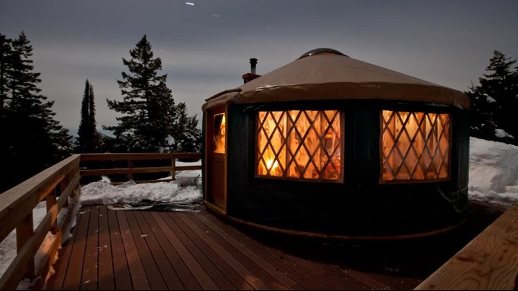 All yurts in the Idaho City Backcountry Yurt System will be open this winter, for the first time since the 2016 Pioneer Fire.