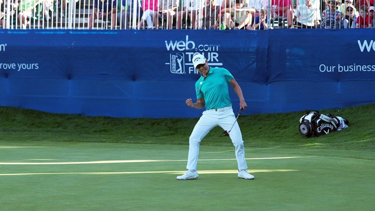 S. Korean Bae Sang-moon secures PGA Tour ticket for next year
