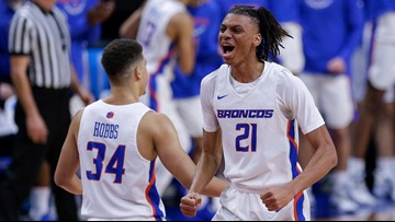 Alston, Boise State roll over NAIA Life Pacific 126-49