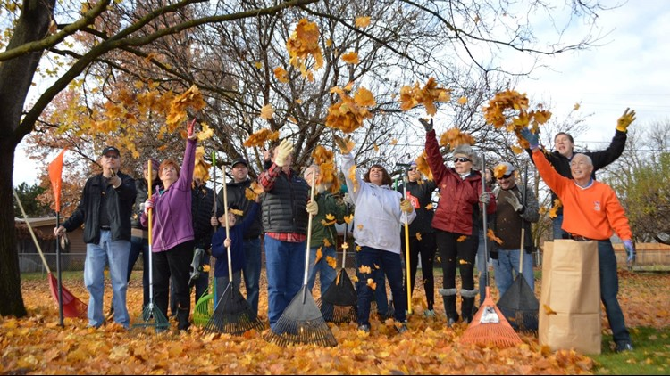 The 33rd annual Rake Up Boise will take place Saturday, November 10. Volunteers will rake the leaves of over 700 senior citizens and disabled persons.