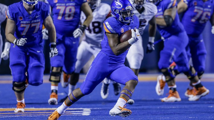 what is the score of the boise state game