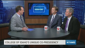 Viewpoint: College of Idaho's unique co-presidency