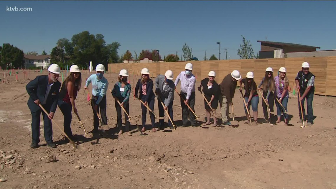 Watch: Groundbreaking for new 'pocket' neighborhood in Boise with homes starting at $300,000