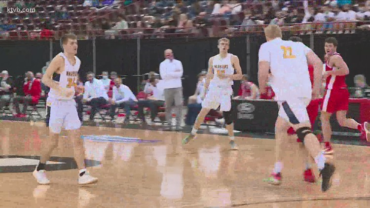 Meridian Warriors 5A boy's basketball 1 win away from first state championship in decades