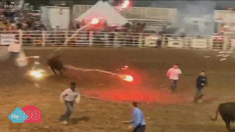 Video: Fireworks shot at cattle during Idaho rodeo