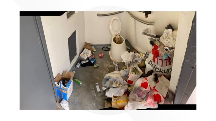 'Very disturbing': Kirkham Hot Springs still plagued by mountains of trash left by visitors