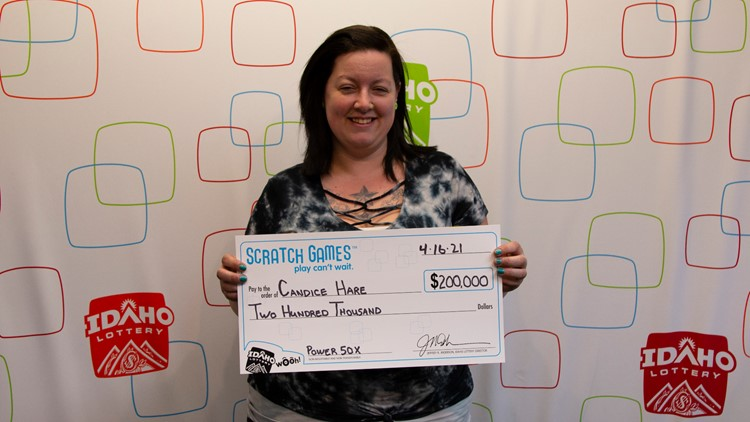 Washington woman wins $200,000 on Idaho Lottery scratch game