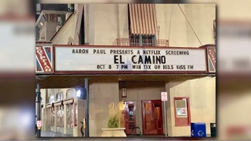 'Breaking Bad' star Aaron Paul hides tickets for Netflix film premiere around downtown Boise