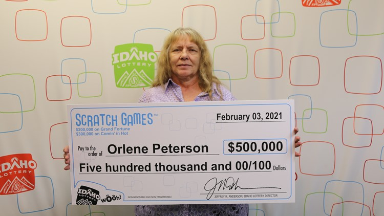 Idaho woman wins $500,000 on 2 scratch game tickets
