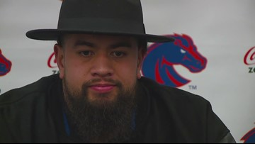 Boise State senior DT David Moa talks about playing Chris Petersen in the Las Vegas Bowl