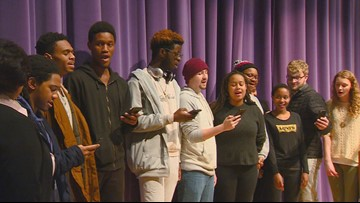 College of Idaho students hold vigil in Caldwell to celebrate Martin Luther King Jr.