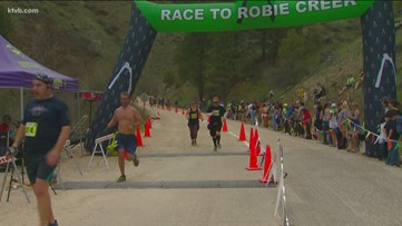 Thousands finish the Race to Robie Creek
