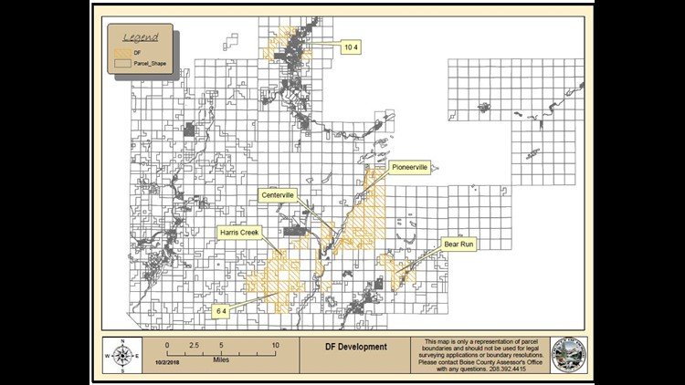 Potlatch Idaho Map.Billionaire Wilks Brothers Own Tens Of Thousands Of Acres In Boise