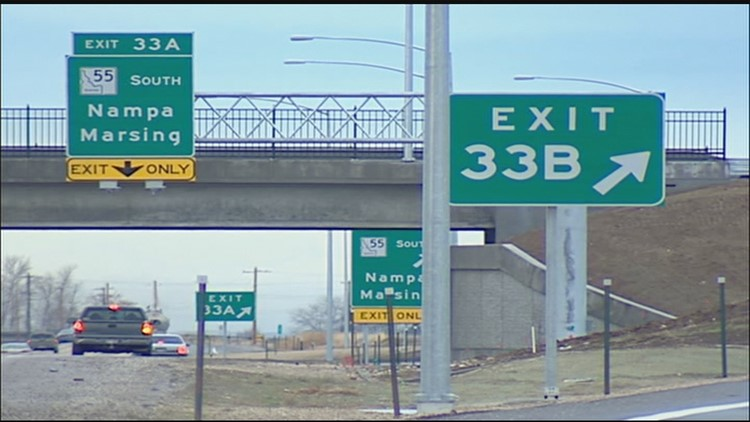 Idaho Transportation Department crews are getting set to remove a major ramp on westbound Interstate 84.