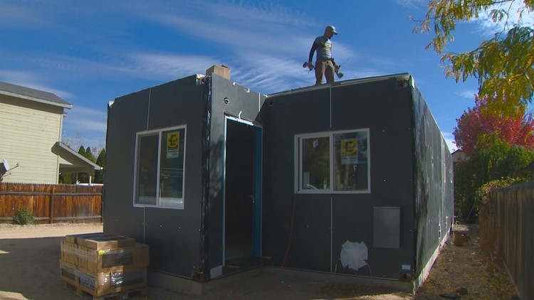 Boise nonprofit offers homes made of steel containers