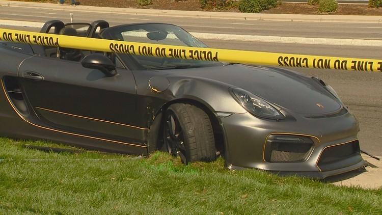 Porsche driver sentenced to week of jail in bloody Boise Spectrum wreck