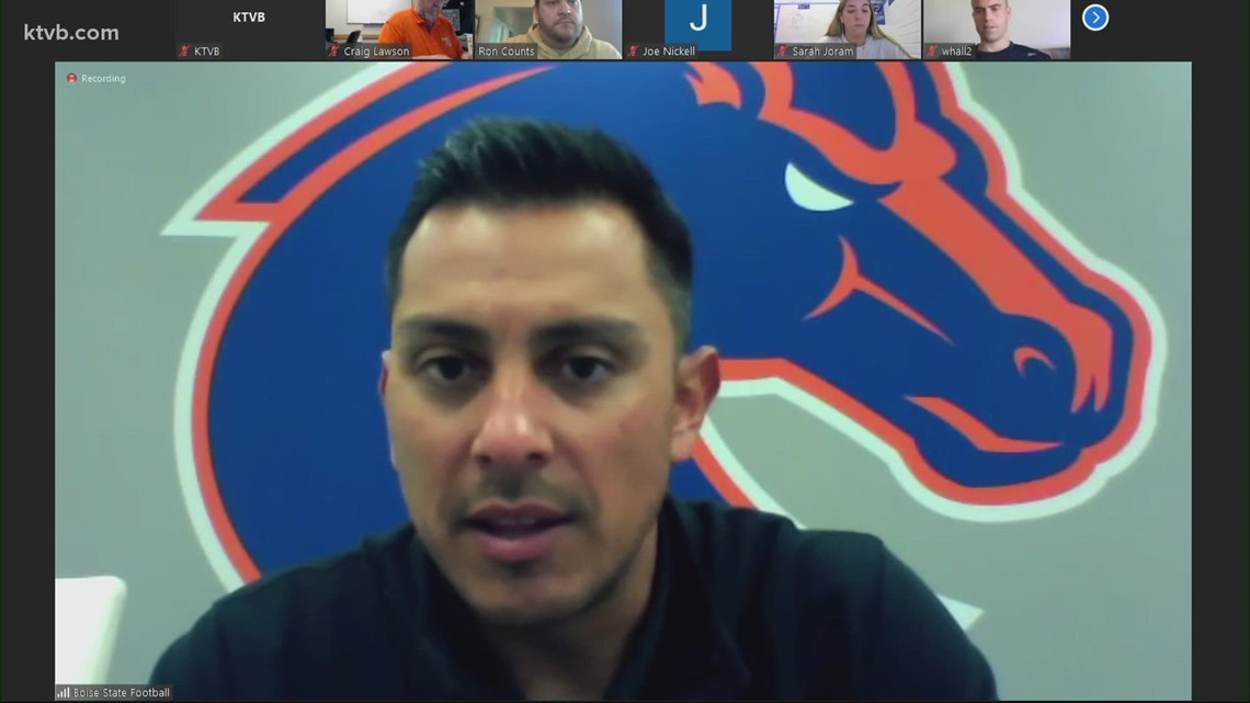 Andy Avalos on Boise State building consistency, game against Utah State