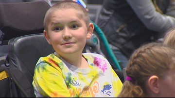 Kuna boy celebrates after Make-A-Wish Idaho grants Disney wish