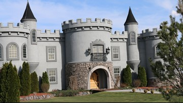 Kuna castle listed last year is back on the market for $1 5