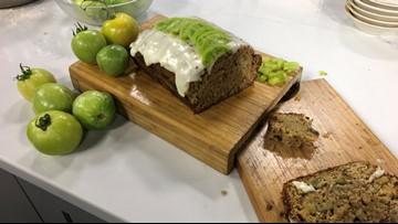 Chef Lou's Green Tomato Walnut Bread
