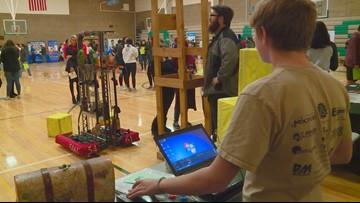 Student organizers put together STEM fair at Borah High