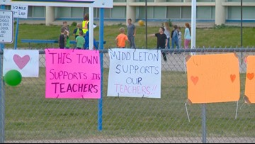 Middleton teachers and staff to return to school this week