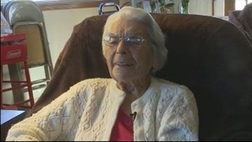 Meridian woman turns 107 years old, shares her secret for a long life