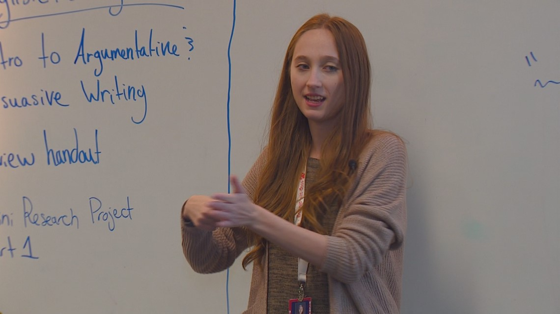 Innovative Educator: Nampa High teacher starts sign language club