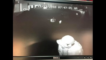 Thieves caught on camera stealing stereo equipment from Garden City business
