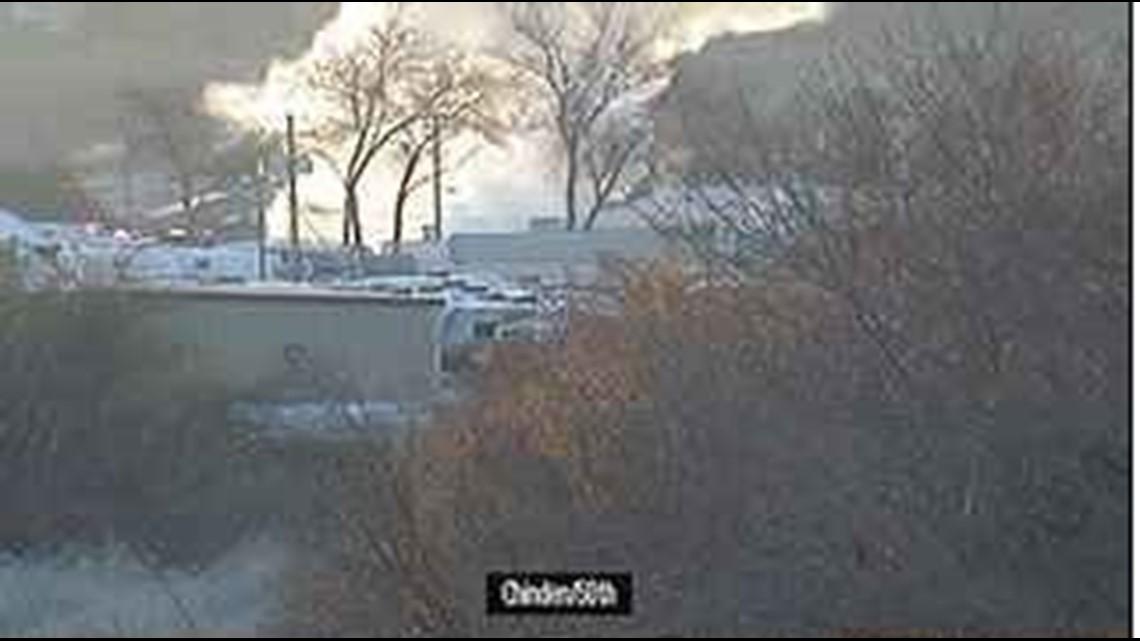 Trailer explodes in Garden City, police on scene