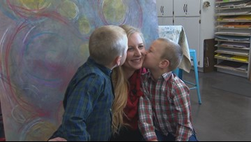 Idaho Life: Single parent families take center stage at Thanksgiving photo shoot
