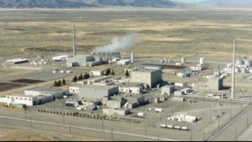 Idaho, Energy Department sign deal on spent nuclear fuel
