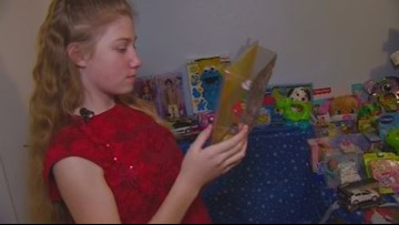 Kuna girl brings Christmas spirit and gifts to children in local hospitals