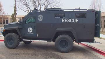 Ada County Paramedics unveil new armored ambulance