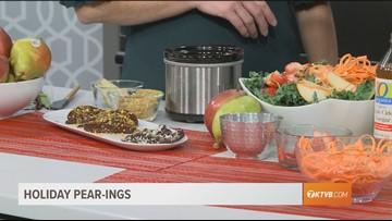 Pear Pistachio Crunch& Superfood Salad