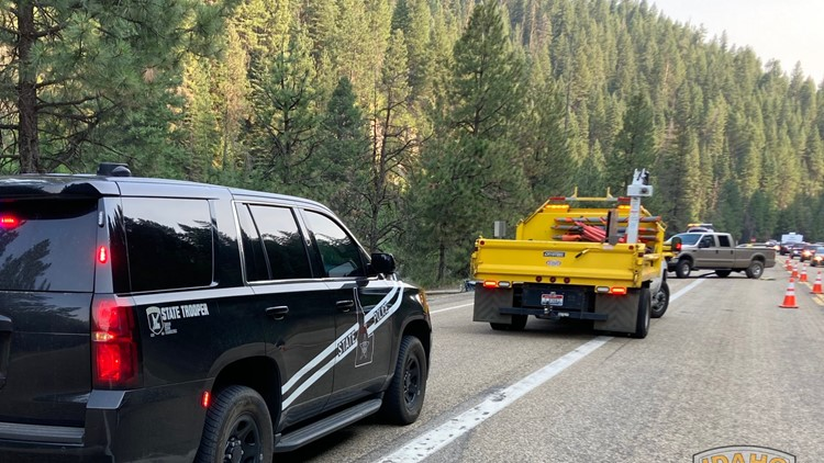 Two people hospitalized after 3-vehicle crash on Highway 55