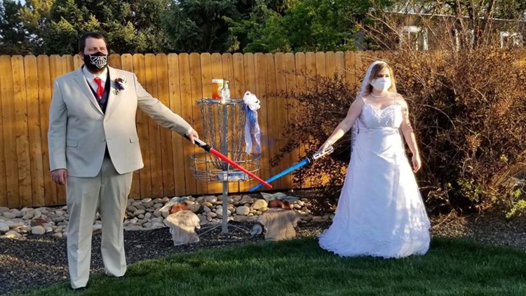 Caldwell couple celebrates with Star Wars-themed wedding  ktvb.com