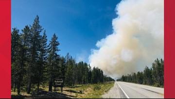 Crews battling 2 wildfires near Stanley