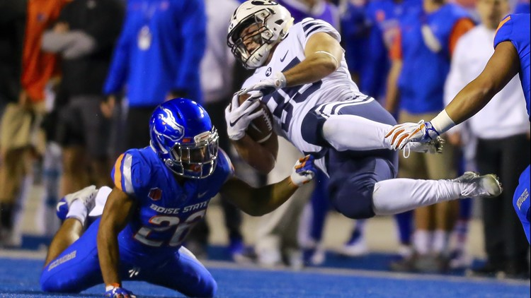 Boise State Football-Avery Williams-BYU