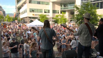 Alive After Five Summer Concert Series in Downtown Boise