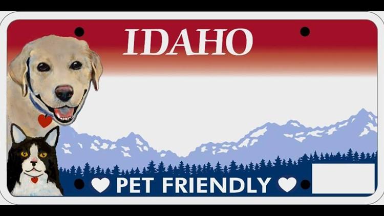 Idaho Humane Society backing new pet-friendly license plate | ktvb com