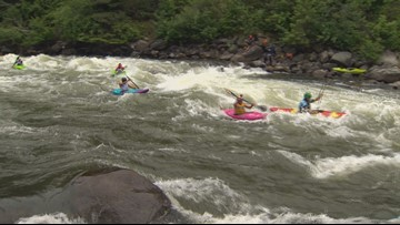 'Idaho is a great place to host this': World kayaking championships hit the Payette River