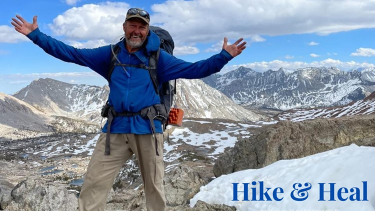 7's HERO: Boise veteran takes on the Pacific Crest Trail to battle PTSD, depression