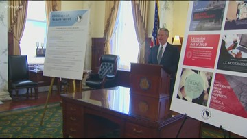 Gov. Little reflects on his first 100 days in office