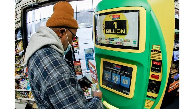 Mega Millions jackpot soars to $1 billion for Friday night's draw