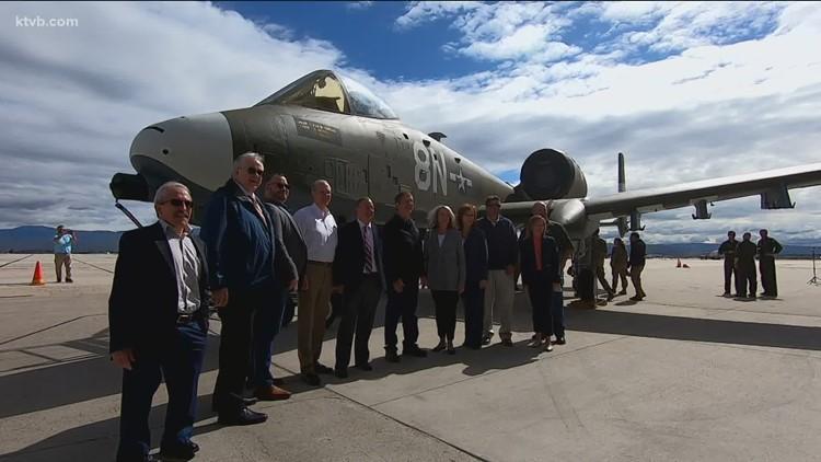 Idaho Air National Guard celebrates 75th anniversary