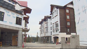 Tamarack Resort plans to finish construction by winter, unveils condos for sale
