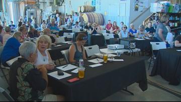 Idaho voters gather in Garden City to watch Democratic debate