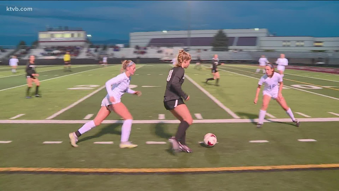 HIGHLIGHTS: Rocky Mountain Grizzlies vs. Timberline Wolves girls 5A SIC soccer final 10/13/2021