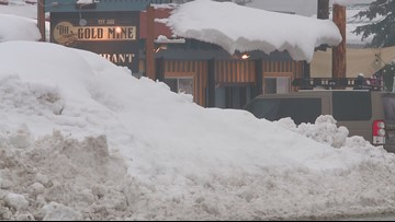 Recent snowfall taking a toll on Idaho mountain school